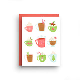 Holiday Mugs Christmas Card