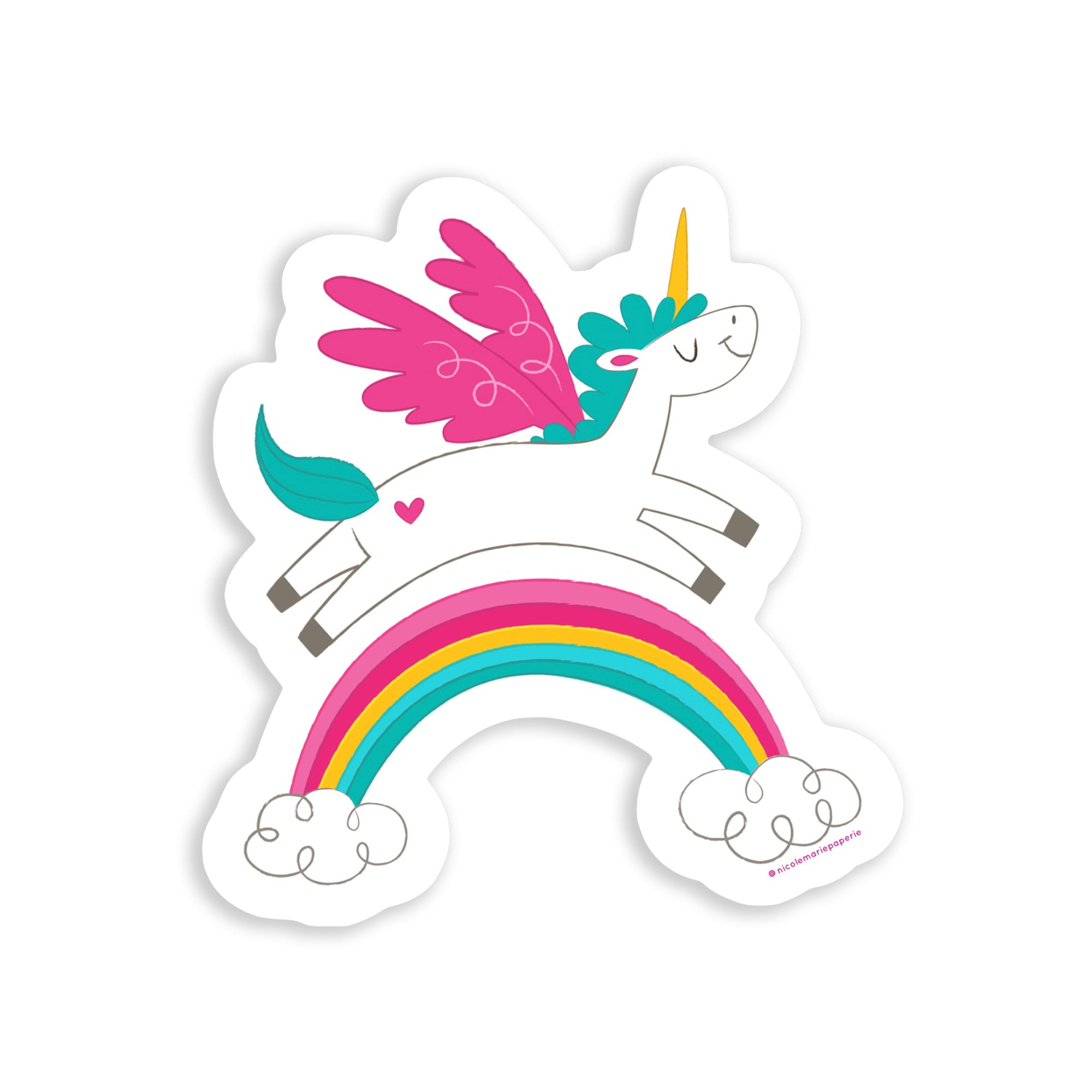 die cut stickers, shaped stickers, custom stickers, custom vinyl product, cool custom stickers, custom logo stickers, custom vinyl decals, contour cut stickers, die cut labels, waterproof logo, unicorn sticker, rainbow, black owned business