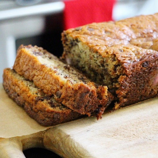 Recipe: Chocolate Chip Banana Bread (That Happens to be Vegan!)