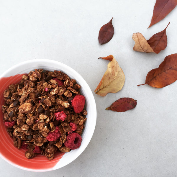 Signature Chocolate Raspberry Granola