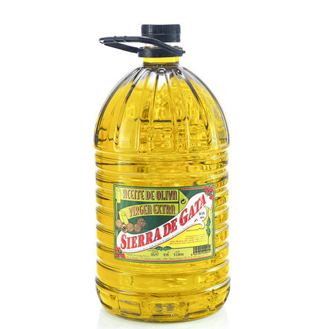 Sierra de Gata Extra Virgin Olive Oil in 5 L bottle