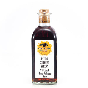 Sherry Vinegar Made With Pedro Ximenez Grapes & 20 Year Aged Sherry