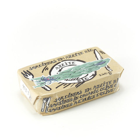 Tinned Sardines in Organic Olive Oil
