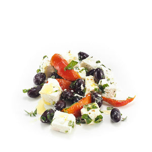 PDO Feta Salad with Peppers, Parsley & Olives