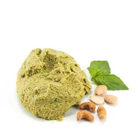 Sicilian Hummus with Basil & Cashew Nuts