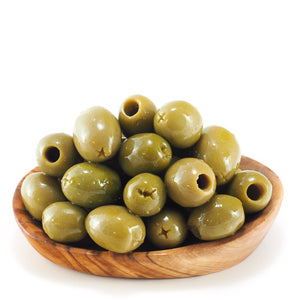 Pitted Large Green Halkidiki Atlas Olives