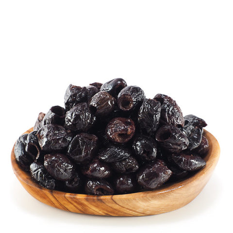 Pitted Black Moroc Olives
