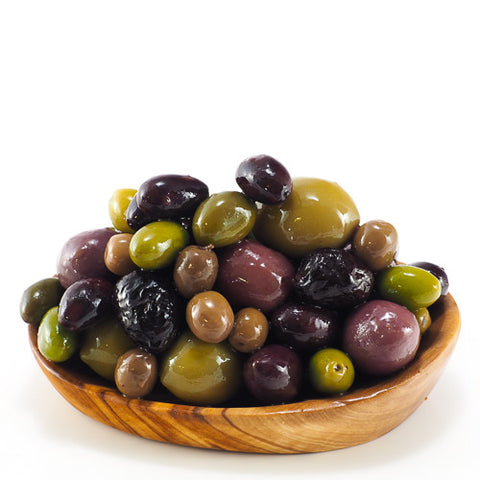 Mixed Olives Including Green & Black Varieties From Across Europe