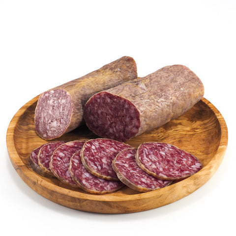 Salchichon Cular Ibérico Bellota: Dry-cured sausage made from premium acorn-fed Iberian pork