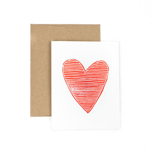 Handmade card Heart