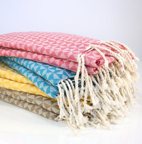 Cotton towel / throw / scarf