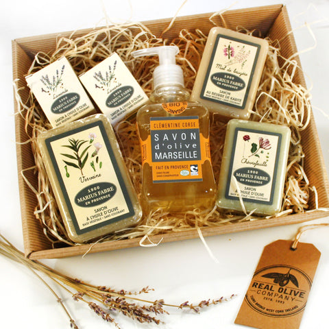 Christmas Hamper With Our Favourite French Soaps