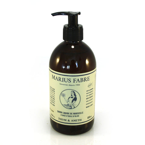 Marius Fabre Thyme and Dill Liquid Soap