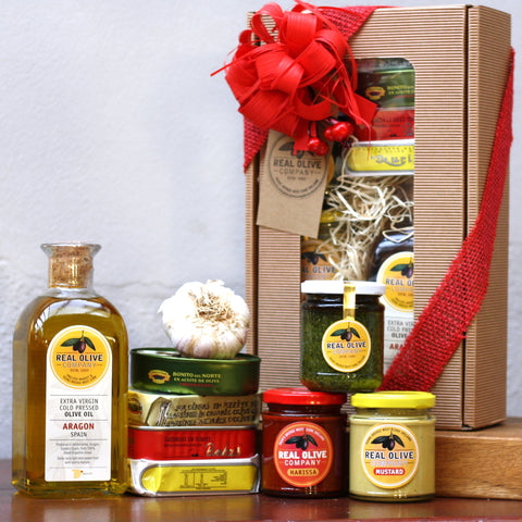 Gift hamper with our favourite jars and tins