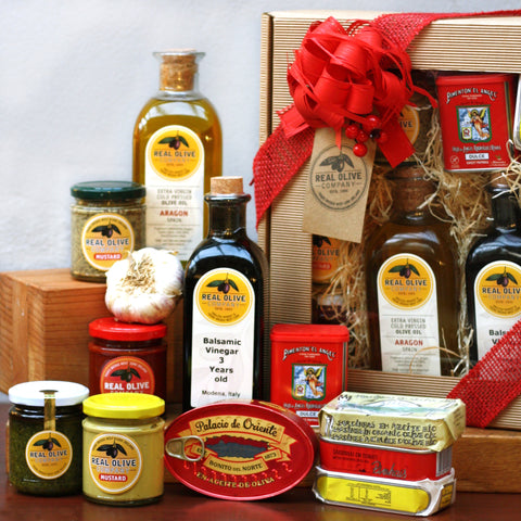 Gift Hamper with our favourite jars, tins and bottles