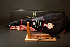 Whole Leg Of Jamon with Stand and Knife