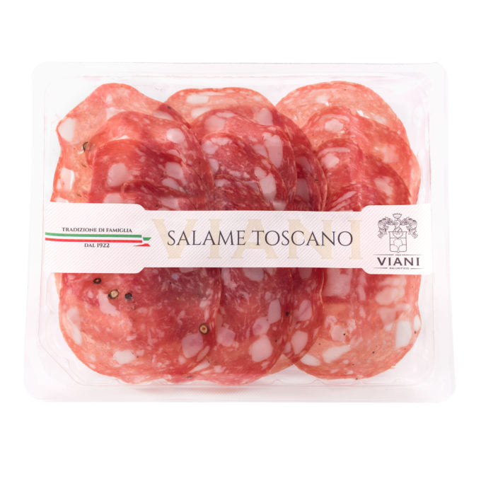 Tuscan Salami Sliced
