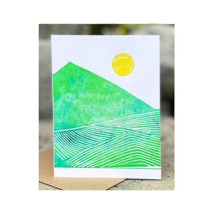 HAND MADE FIELD CARD