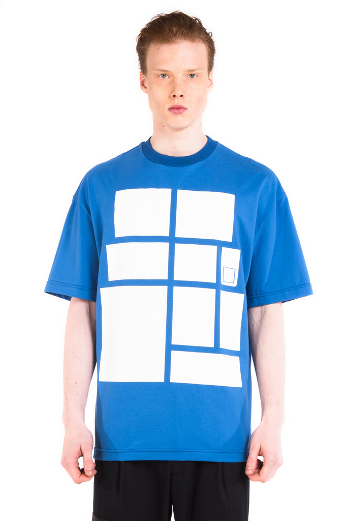 LOGO T-SHIRT / BLUE -30%