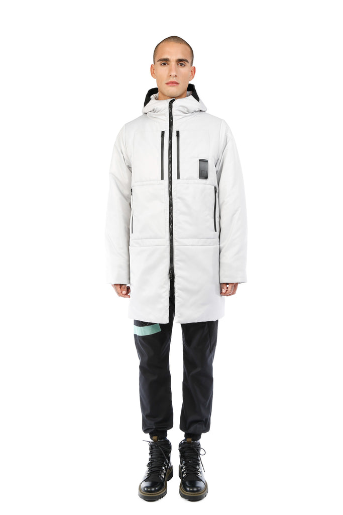 ICON PARKA / LIGHT GREY