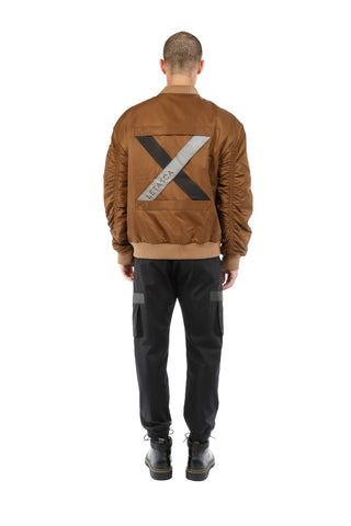 BOMBER JACKET / BROWN