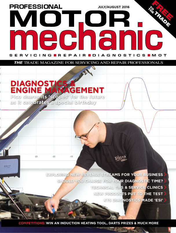 Clobberizer featured in the July/August edition of the Professional Motor Mechanic