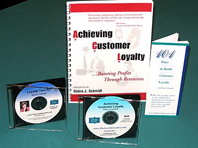 "DVD - ""Achieving Customer Loyalty"""