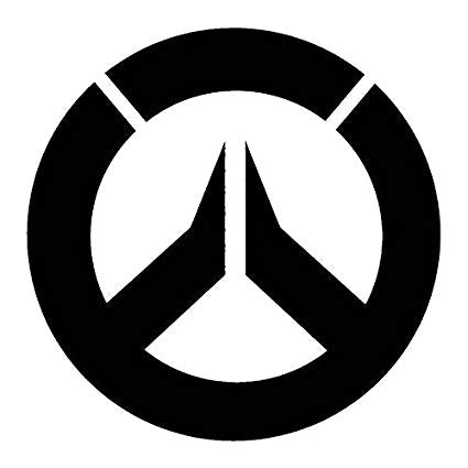 Overwatch Logo Sticker 1963 Clothing