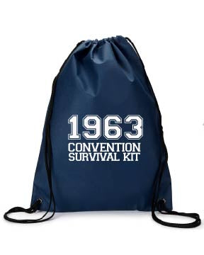 1963 Convention Survival kit bag