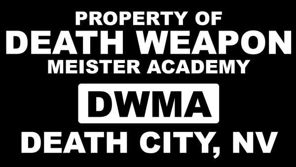 Soul Eater Death Weapon Meister Academy Crew Hooded sweatshirt