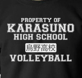 Karasuno Volleyball Team Crew Neck Sweatshirt