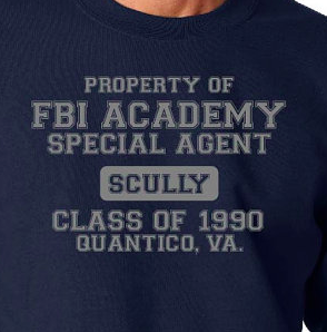 FBI Academy Scully ( x files ) Hoodie