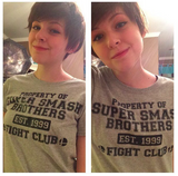 Super Smash Bros Fight Club T-Shirt