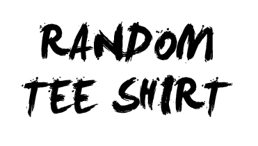 RANDOM DISCOUNTED TEE SHIRT (please do not use a discount code on this, its already discounted)