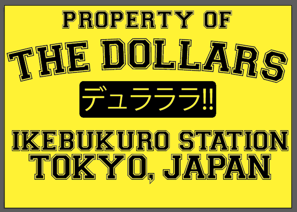 The Dollars ( Durarara ) Crew Neck Sweatshirt