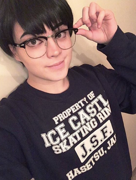 Ice Castle Skating Rink Yuri on Ice Crew Neck Sweatshirt
