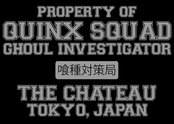 Quinx Squad ( Tokyo Ghoul ) T-Shirt