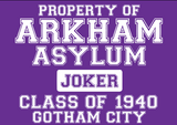 Property of Arkham Asylum ( Joker ) T-Shirt