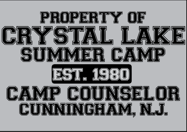 Crystal Lake Summer Camp ( friday the 13th ) Crew neck sweatshirt