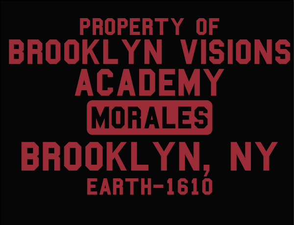 Brooklyn Vision School ( spider-man )  miles morales T-Shirt