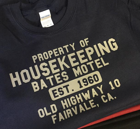 Bates Motel Housekeeping Tee