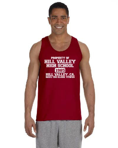 Hill Valley High School ( back to the future ) Tank Top