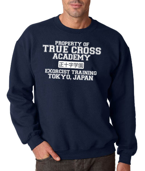 True Cross Academy ( Blue Exorcist ) Crew Neck Sweatshirt