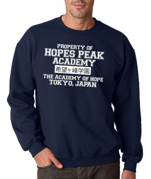 Hopes Peak Academy ( Danganronpa ) Crew Neck Sweatshirt