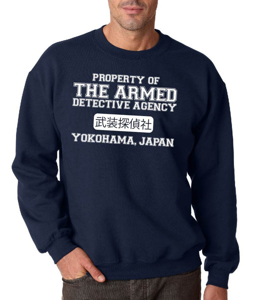 Bungou Stray Dogs The Armed Detective Agency Crew Neck Sweatshirt