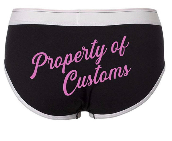Property of custom text, you can select the name|title fetish bdsm inspired boy cut underwear