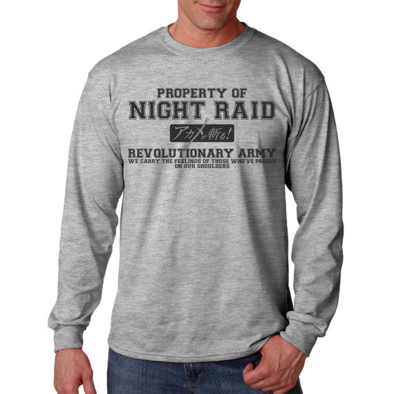 Property of Night Raid ( Akame ga Kill ) Crew Neck Sweatshirt