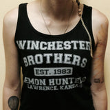 Winchester Brothers ( supernatural ) Tank Top