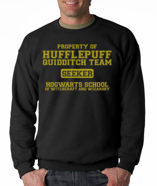 Hufflepuff Quidditch Seeker Crew Neck Sweatshirt