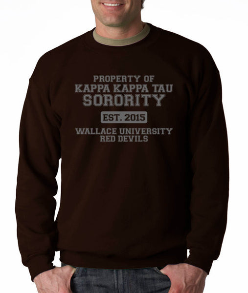 Kappa Kappa Sorority ( Scream Queens ) Crew Neck Sweatshirt